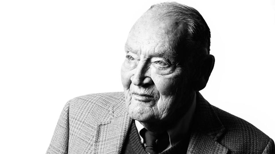 Photo of 約翰‧柏格的早年歲月(Early life of John Bogle)