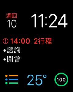 多功能組合錶面
