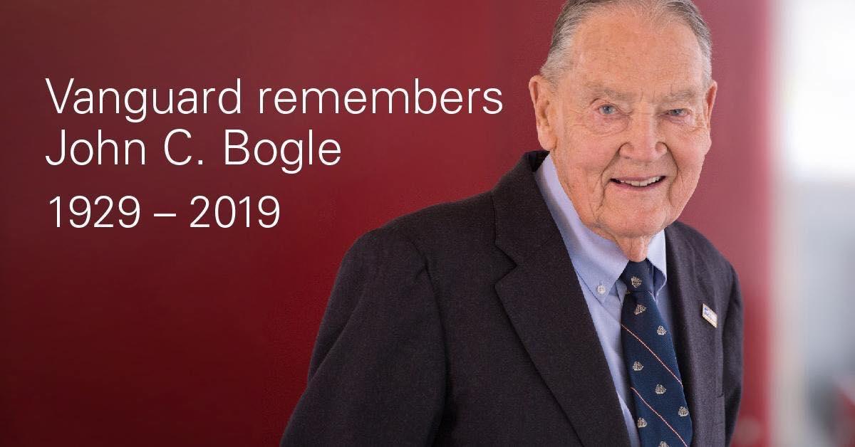 Photo of John Bogle逝世新聞彙整:活在當下,回復對生命的熱情